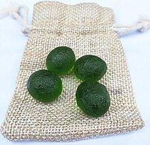 KAPU Lot de 4 pierres en verre métégem ver