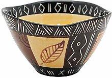 Kapula Bol en céramique peint à la main –