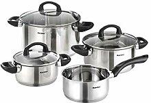 Karcher Mia set de casseroles en acier inoxydable,