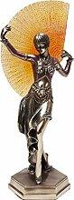 Kare Art Deco Dancer objet décoratif, cuivre,