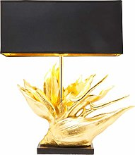 Kare Design Tropical Flower Lampe de table en or
