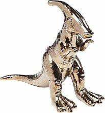 Kare Dino Objet décoratif Doré 33 cm