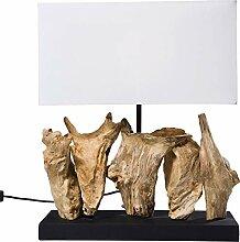 Kare Lampe à Poser Nature Verticale