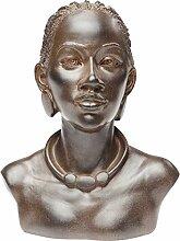 Kare Objet décoratif African Lady Choker, Marron,