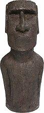 Kare Objet décoratif Easter Island, Gris, 80 cm