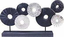 Kare Objet décoratif Wheels of Fortune Noir