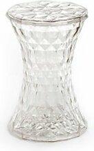 Kartell 8800B4 Tabouret Stone (Transparent)