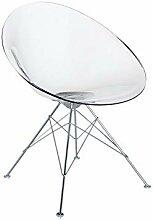 Kartell Ero/S/fauteuil Moderne Cristal