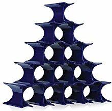 Kartell INFINITY porte-bouteilles , bleu