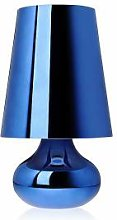 KARTELL lampe de table CINDY (Bleu - ABS