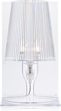 Kartell Lampe de table Take - Verre clair