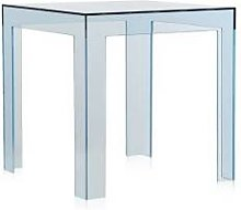 KARTELL table basse JOLLY (Bleu - Polycarbonate