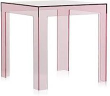 KARTELL table basse JOLLY (Rose - Polycarbonate
