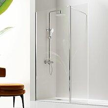 Kassandra - Paroi de douche fixe + Porte pivotante