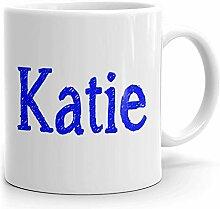 Katie Tasse à café personnalisée pour thé,