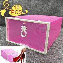 KATLY 10pcs Boîte à Chaussures épaississante