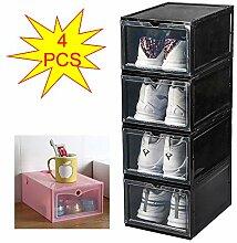 KATLY 4pcs boîte de Rangement de Baskets