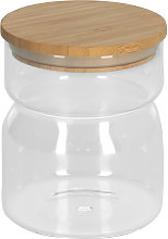 Kave Home - Bocal Catia en verre transparent petit