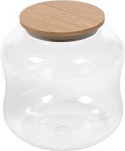 Kave Home - Bocal Cirene en verre transparent