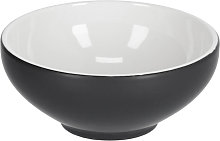 Kave Home - Bol Sadashi petit en porcelaine noir