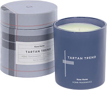Kave Home - Bougie parfumée Tartan Trend