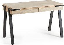 Kave Home - Bureau Thinh en bois d'acacia