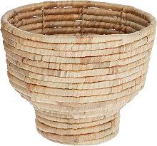 Kave Home - Cache-pot Colomba fibres naturelles Ø