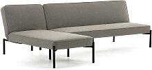 Kave Home - Canapé-lit avec méridienne Nelki