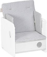Kave Home - Coussin de chaise haute Nuun 100%
