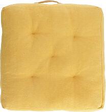 Kave Home - Coussin de sol Sarit 100% coton