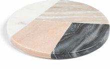 Kave Home - Dessous de plat rond Bradney marbre