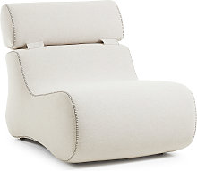 Kave Home - Fauteuil Club beige