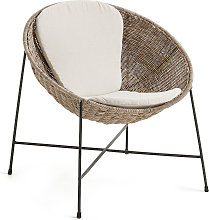 Kave Home - Fauteuil Kathryn