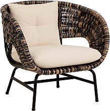 Kave Home - Fauteuil Lin