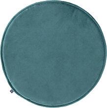 Kave Home - Galette de chaise ronde Rimca velours