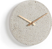 Kave Home - Horloge murale Alexia Ø 27 cm beige