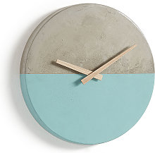 Kave Home - Horloge murale Lenny Ø 27 cm