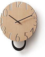 Kave Home - Horloge murale Peters Ø 30 cm