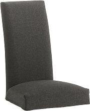 Kave Home - Housse de chaise Freda graphite