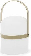 Kave Home - Lampe à poser Ridley marron