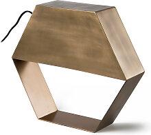 Kave Home - Lampe de table Bidi cuivre