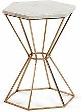 Kave Home Linha Table d'appoint hexagonale en