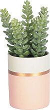 Kave Home - Plante artificielle Sedum lucidum en