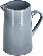 Kave Home - Pot à lait Airena en céramique bleue