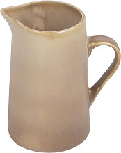 Kave Home - Pot à lait Vreni en céramique beige