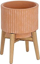 Kave Home - Pot Elima en Terre Cuite de Ø 19,5 cm