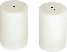 Kave Home - Salière et poivrière Claria en marbre