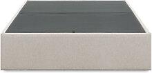 Kave Home - Sommier coffre Matters 180x200 cm beige