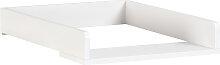 Kave Home - Table à langer Nunila en DM blanc 72