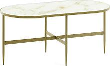 Kave Home - Table basse Elisenda 100 x 50 cm